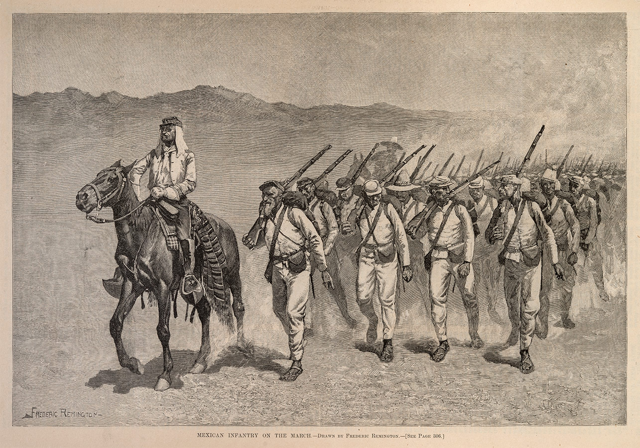 Mexican-Infantry-on-the-March_sized