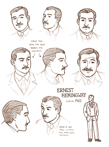 Hemingway_Ralston_Paris sketches (cleaned up)_web